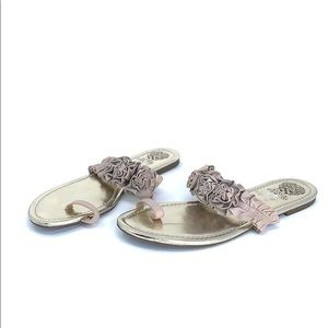 Vince Camuto Shoes - VINCE CAMUTO toe loop flats sandals